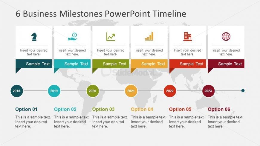 Business Presentation of Milestones - SlideModel