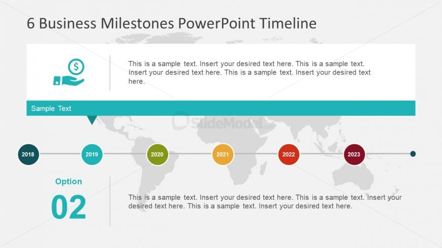 Business Milestone PowerPoint Infographic - SlideModel