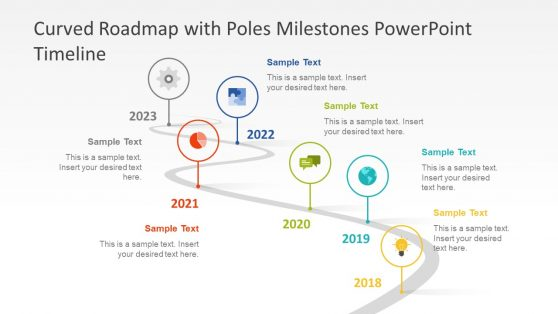 Editable Timeline Templates for PowerPoint - timeline slide powerpoint