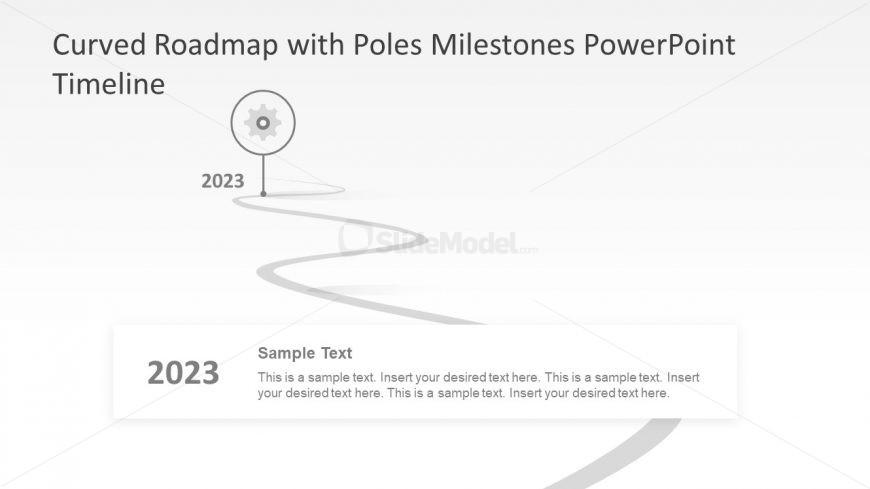 6 Segments Timeline Presentation - SlideModel