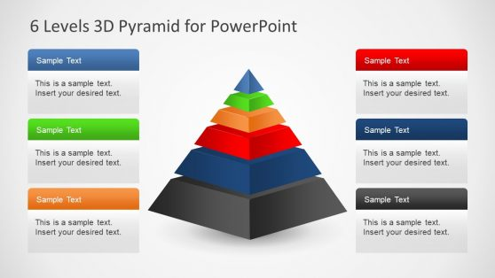3D Pyramid Templates for PowerPoint