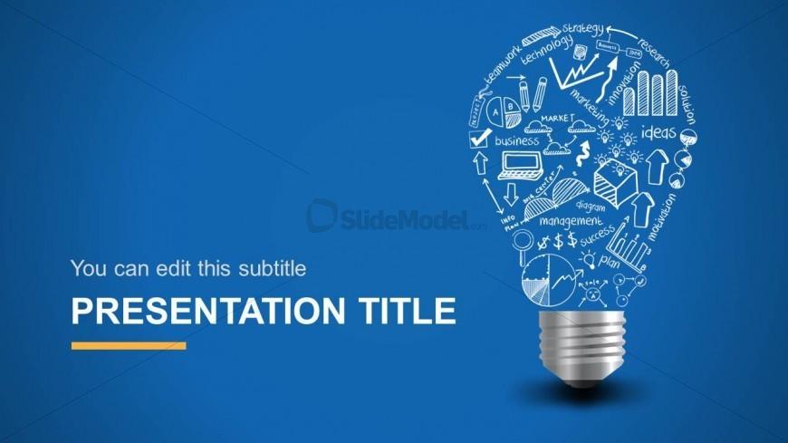 Light Bulb Background Template for PowerPoint - SlideModel