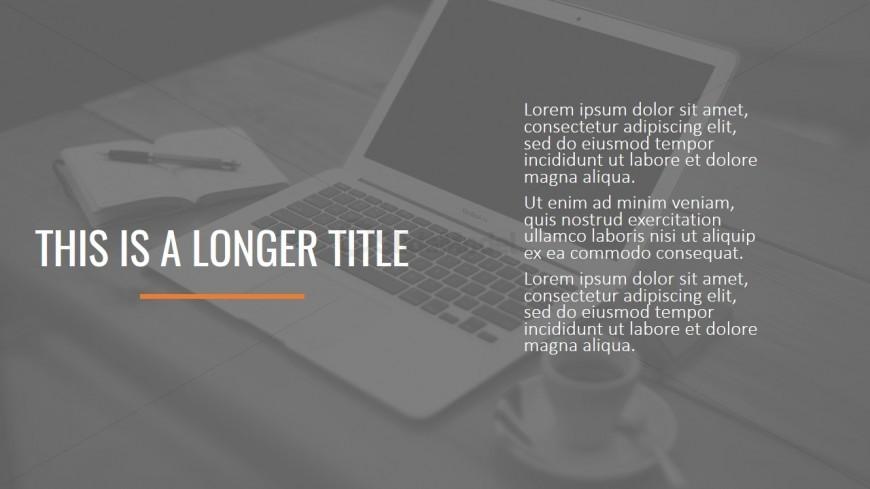 Long Title Background Image Theme Design - SlideModel