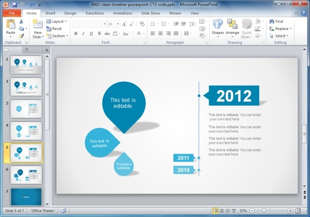 Creative Templates For Gantt Charts  Project Planning in PowerPoint
