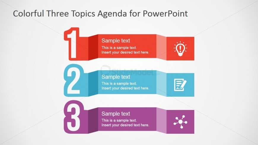 Free PowerPoint Template for Agenda Design - SlideModel