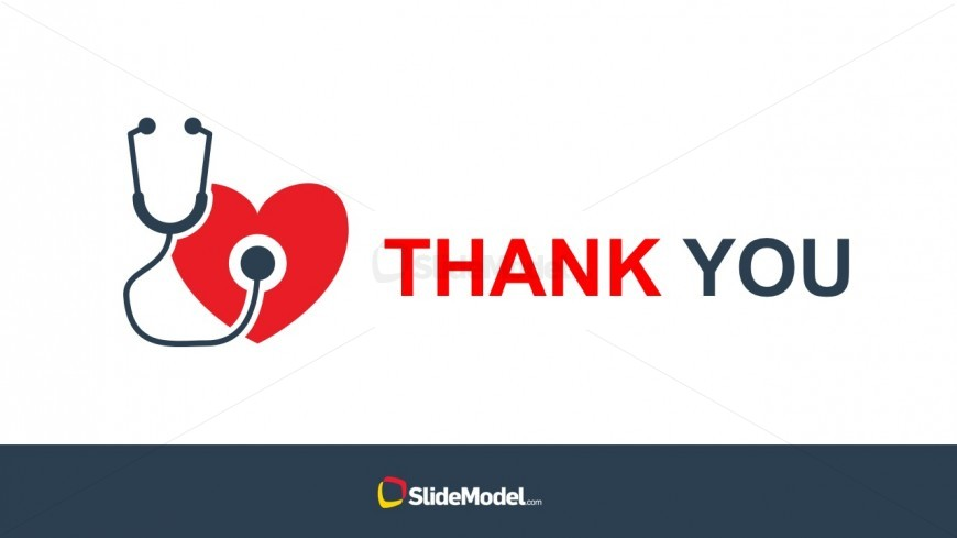 Human Heart with Stethoscope PowerPoint Vector - SlideModel