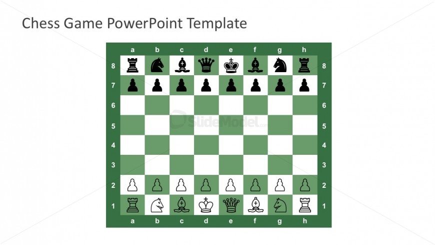 Free Chess Board PowerPoint Slides - SlideModel