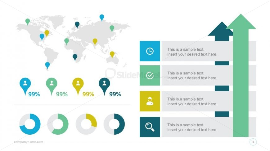 Free Global Statistics PowerPoint Infographics - SlideModel