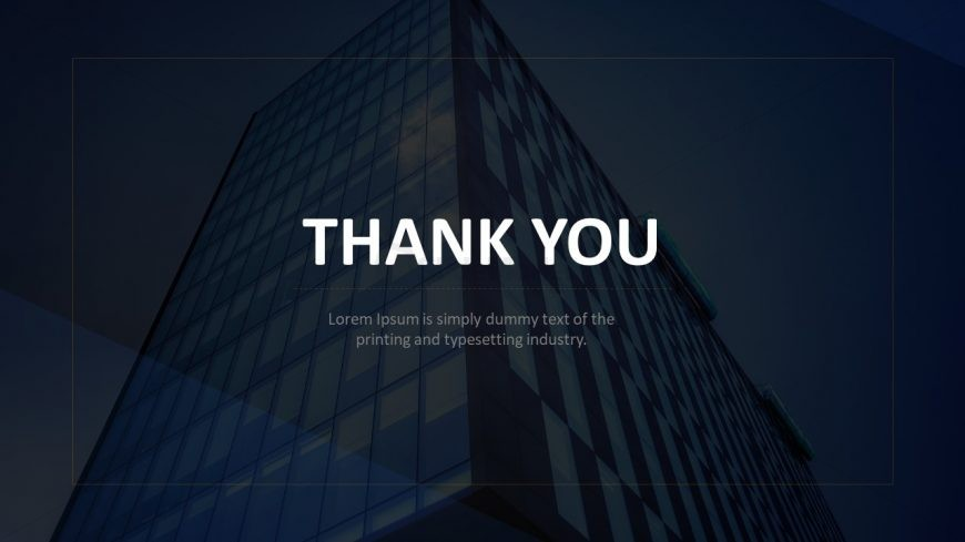 Thank You Slide for Presentation - SlideModel
