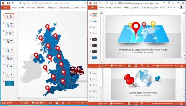 Make Sales Plans With Editable Territory Maps for PowerPoint - best sales plan