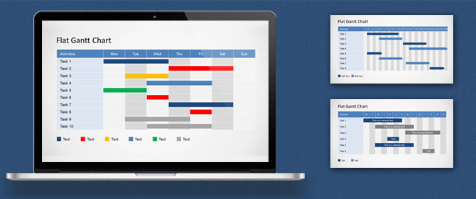 How to Edit a Gantt Chart PowerPoint Template - SlideModel
