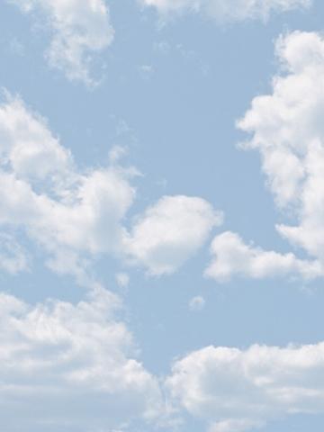3d Wallpaper Hello Kitty Cloudy Blue Sky Wallpaper Iphone Blackberry