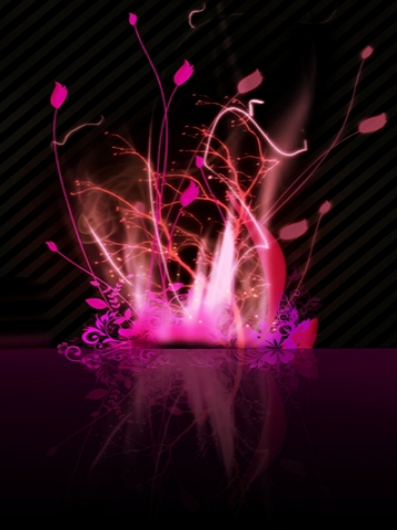 Wallpaper Girly Iphone Pink Abstract Fire Wallpaper Iphone Blackberry