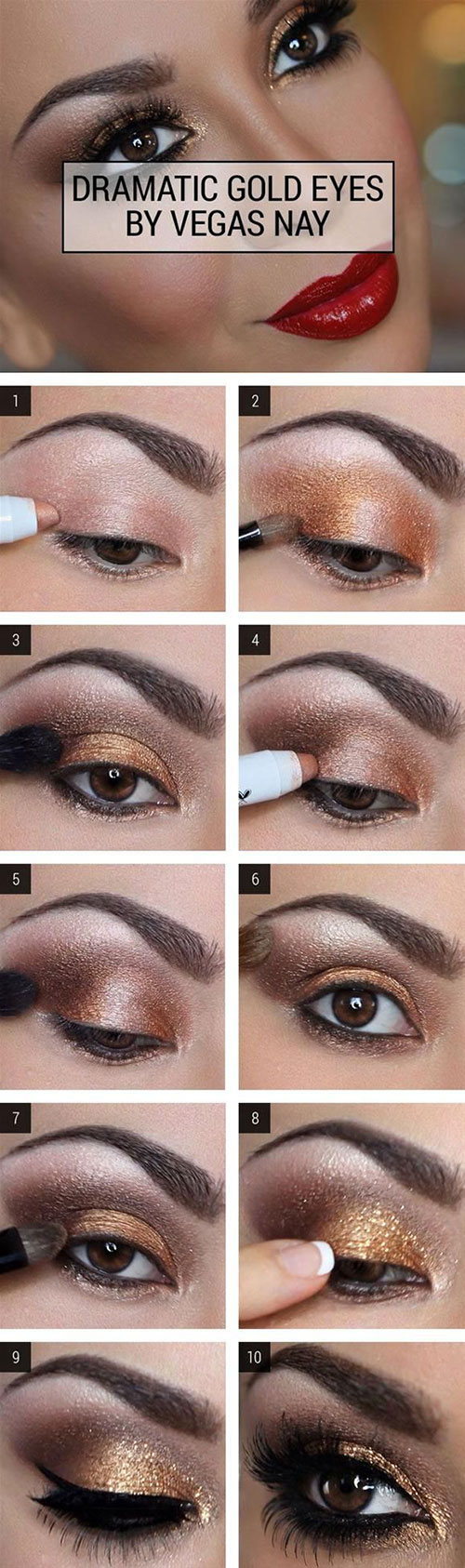 Smokey Eyes Makeup How To Do Smokey Eye Makeup Top 10 Tutorial Pictures For 2019
