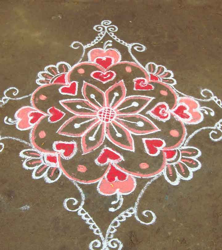 10 Great South Indian Rangoli Designs To Try Out This New Year 2019