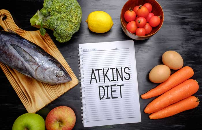 Atkins Diet \u2013 Best Low-Carb Diet To Lose 2 Pounds In 1 Week