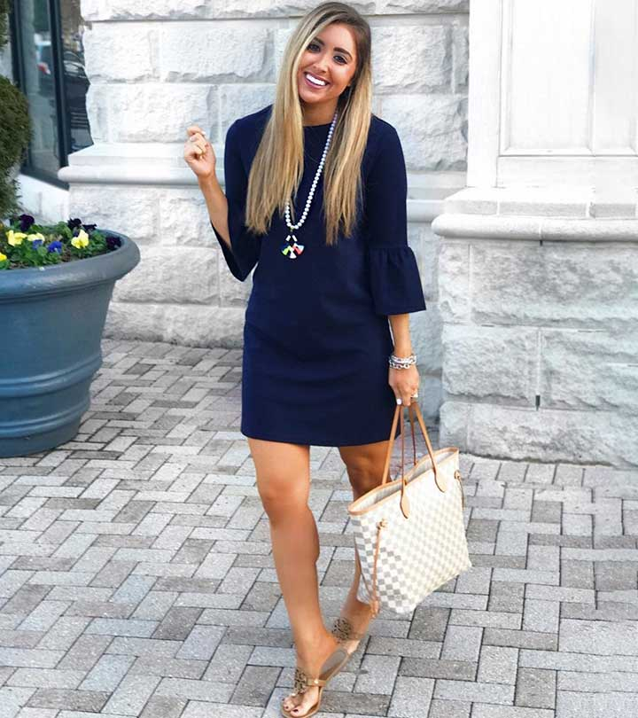 Best Shoe Colors That Go With A Navy Blue Dress