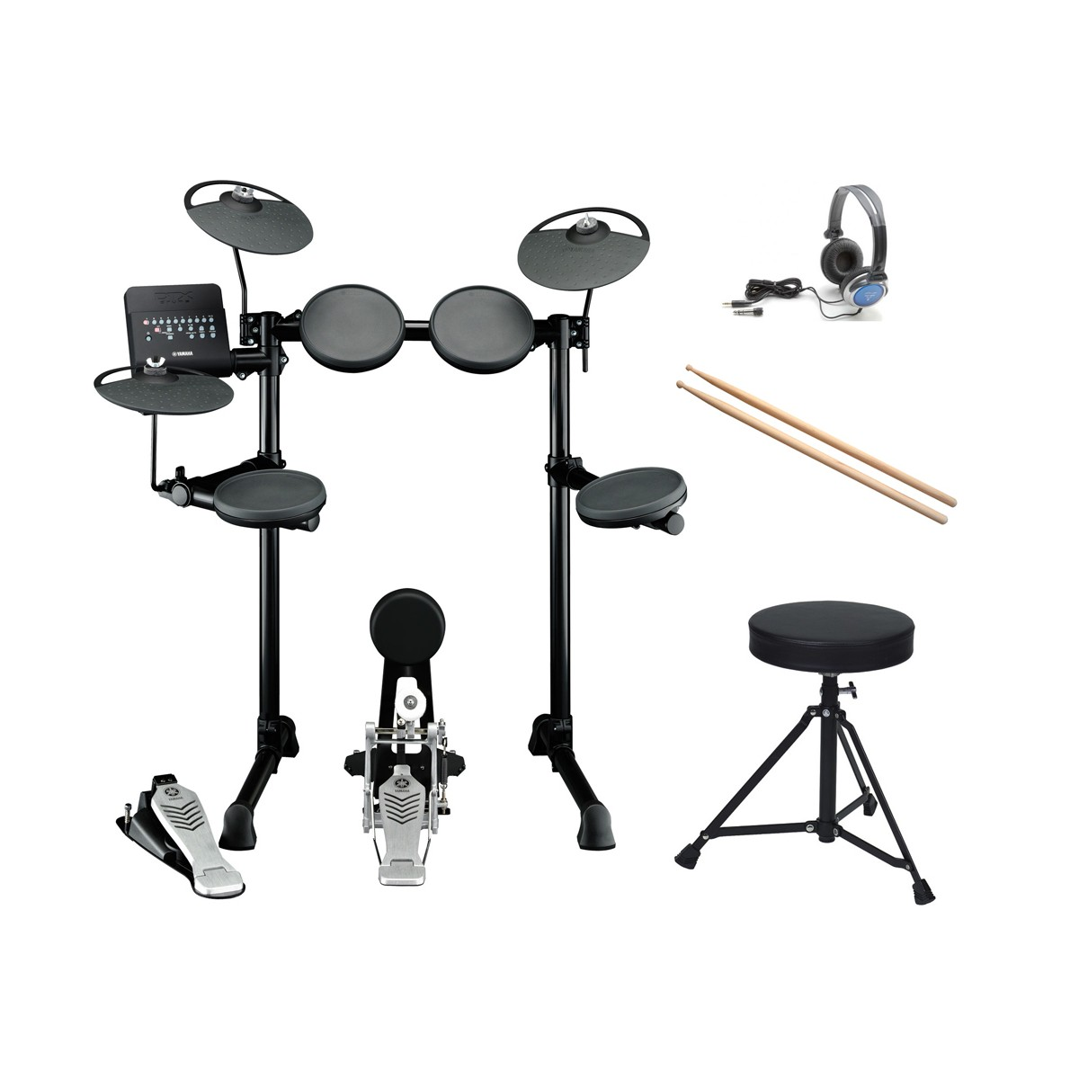 Alfombra Bateria Electronica Yamaha Dtx430k Bateria Electronica Pack Comprar Online