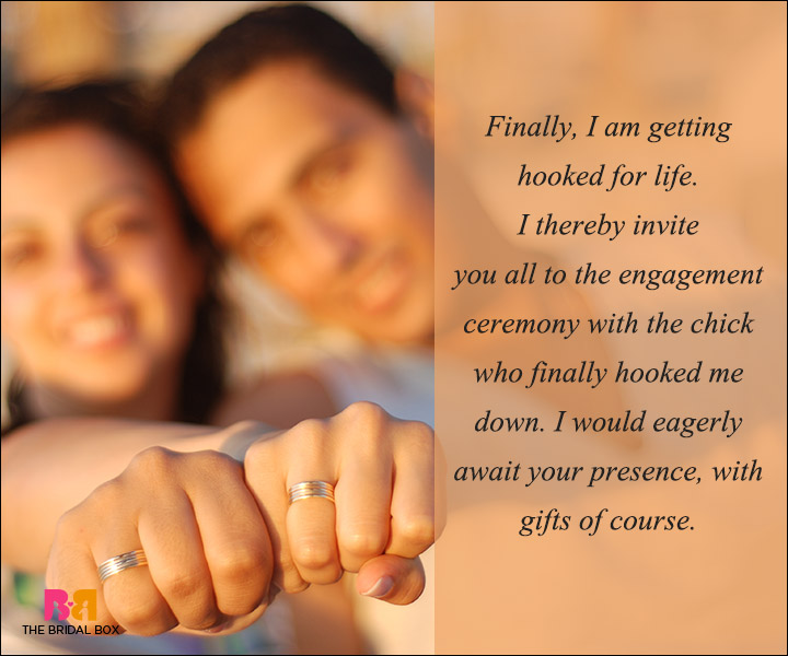 50 Engagement Invitation Wording Ideas To The Rescue