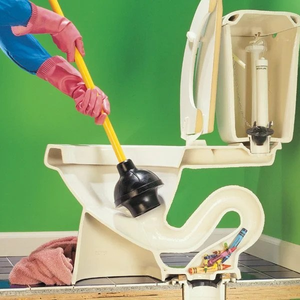 How To Fix A Clogged Toilet | The Family Handyman