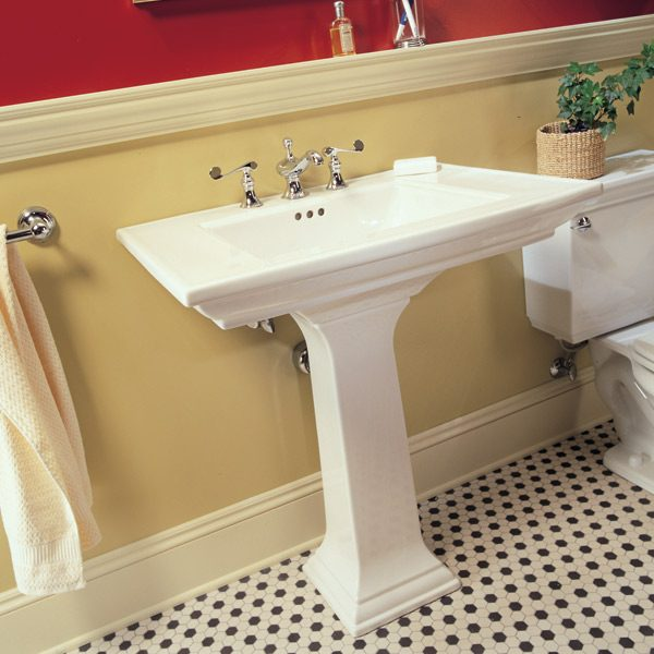 How To Plumb A Pedestal Sink | The Family Handyman