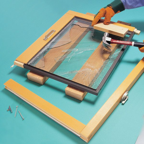 How To Replace Insulating Glass | The Family Handyman