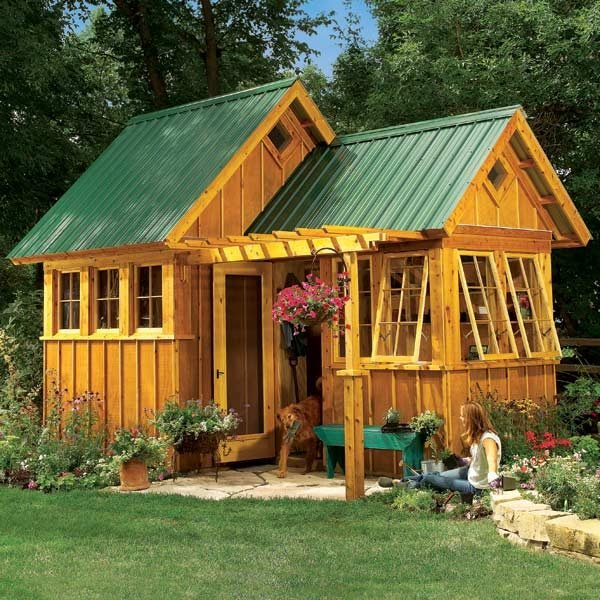 Shed Plans Storage Shed Plans The Family Handyman - garden shed design