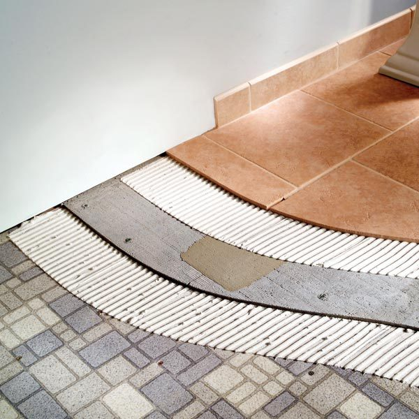 How To Tile Bathroom Floors | The Family Handyman