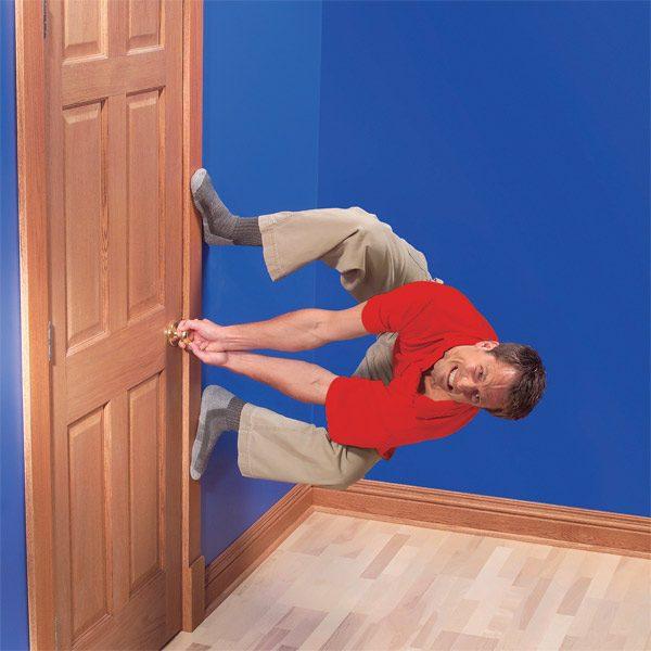 Fix Sagging Or Sticking Doors | The Family Handyman