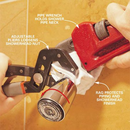 How To Clean Showerheads | The Family Handyman