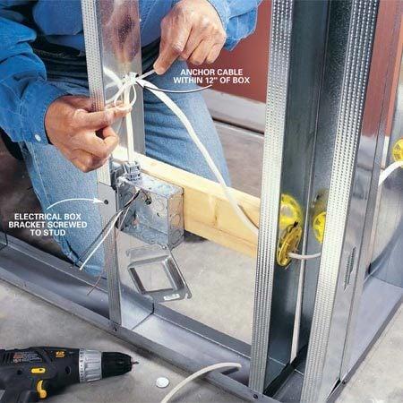 Using Steel Studs | The Family Handyman