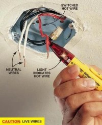 How to Hang a Ceiling Light Fixture   The Family Handyman