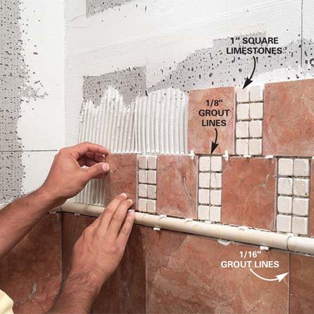 How To Install Natural Stone Tile | The Family Handyman