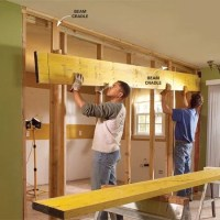 How to Install a Load-Bearing Beam | The Family Handyman