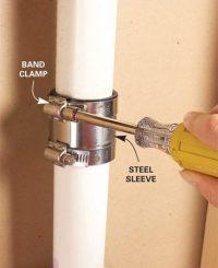 Tricks for Splicing Plastic Drain Pipe   The Family Handyman