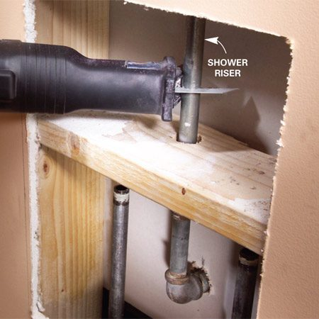 Shower Faucet Installation | The Family Handyman