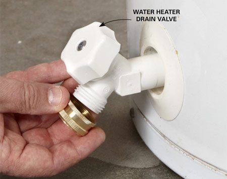 Fix A Leaking Water Heater | The Family Handyman