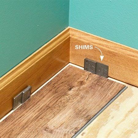How To Install Luxury Vinyl Flooring | The Family Handyman