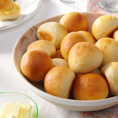 Overnight Yeast Rolls Recipe   Taste of Home