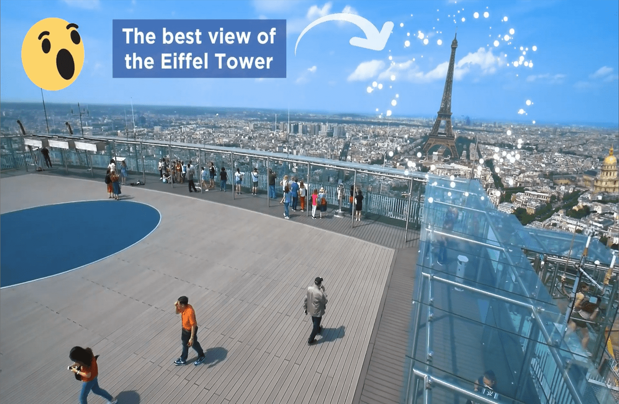 Best Of Terrasse Paris View Of The Eiffel Tower A Stunning Point Of View