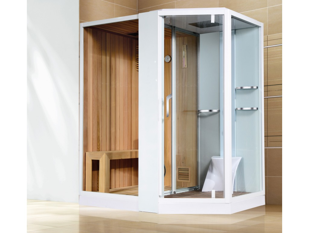 Douche Thermostatique Sauna Combiné Douche Design - Ueva.fr
