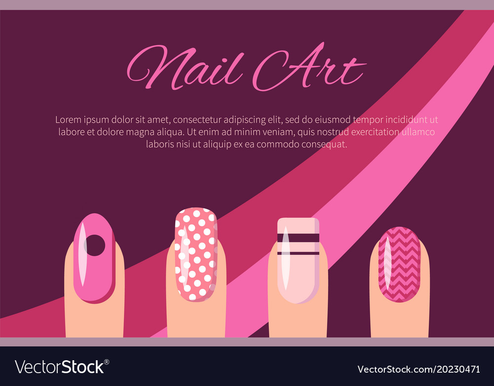 Nail Art Poster Kitharingtonweb