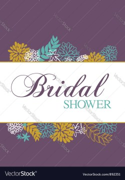 Top Bridal Shower Card Vector Image Bridal Shower Card Royalty Free Vector Image Vectorstock Bridal Shower Card Words Bridal Shower Cards Diy