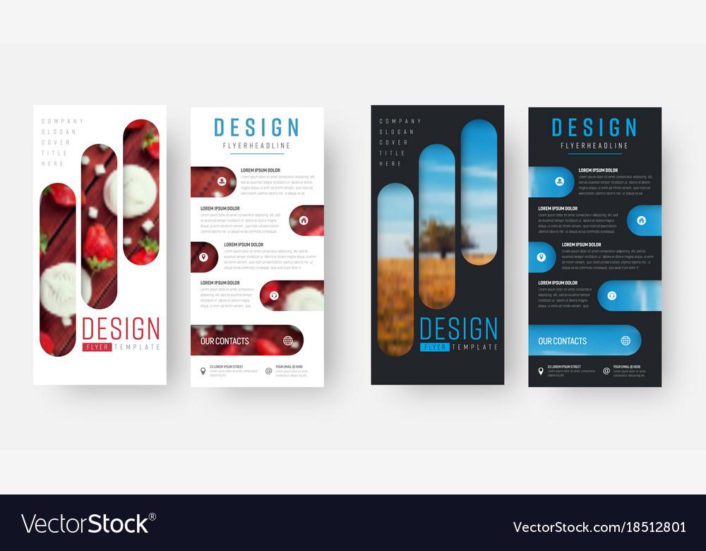 black and white flyer design - Pinarkubkireklamowe