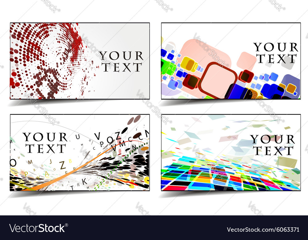 Business gift cards design Royalty Free Vector Image - gift cards for business