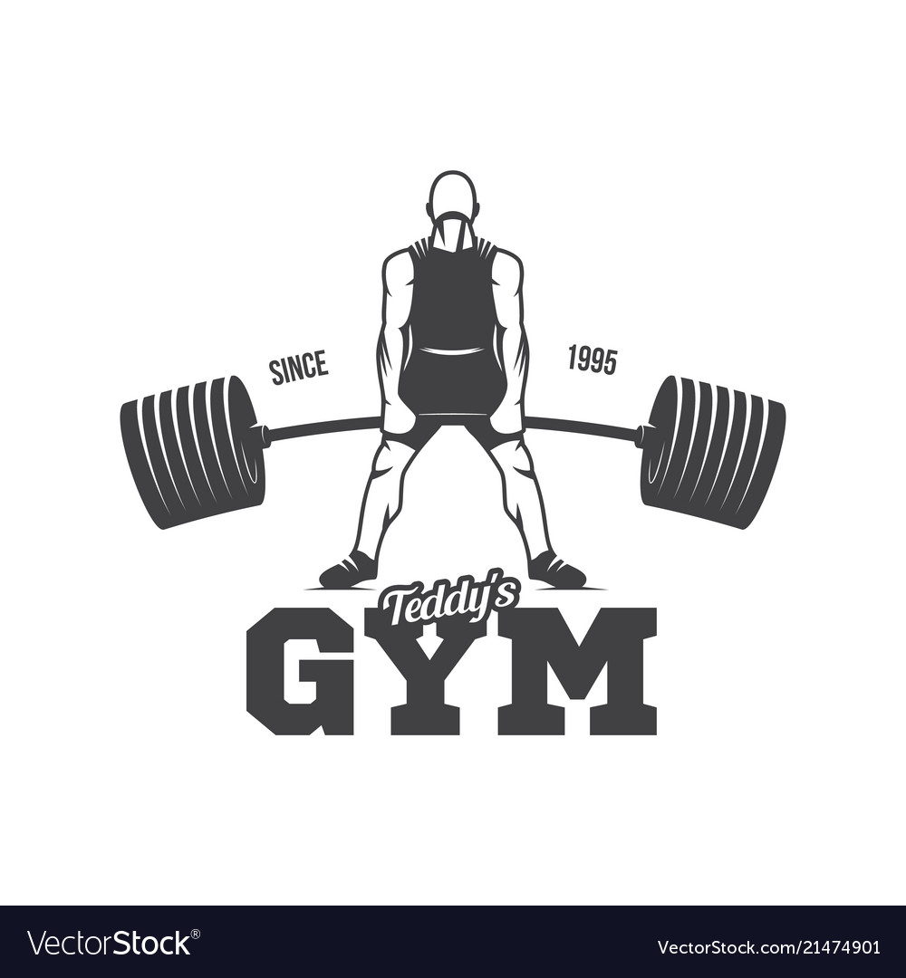 Kettlebell Bodybuilding Bodybuilding Powerlifting Kettlebell Workout Vector Image On Vectorstock