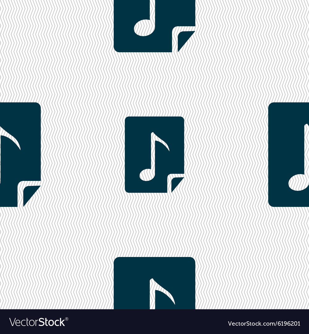 Mp3 Audio Audio Mp3 File Icon Sign Seamless Abstract