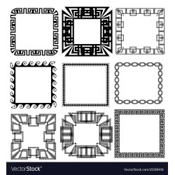 Small Crop Of Greek Key Pattern
