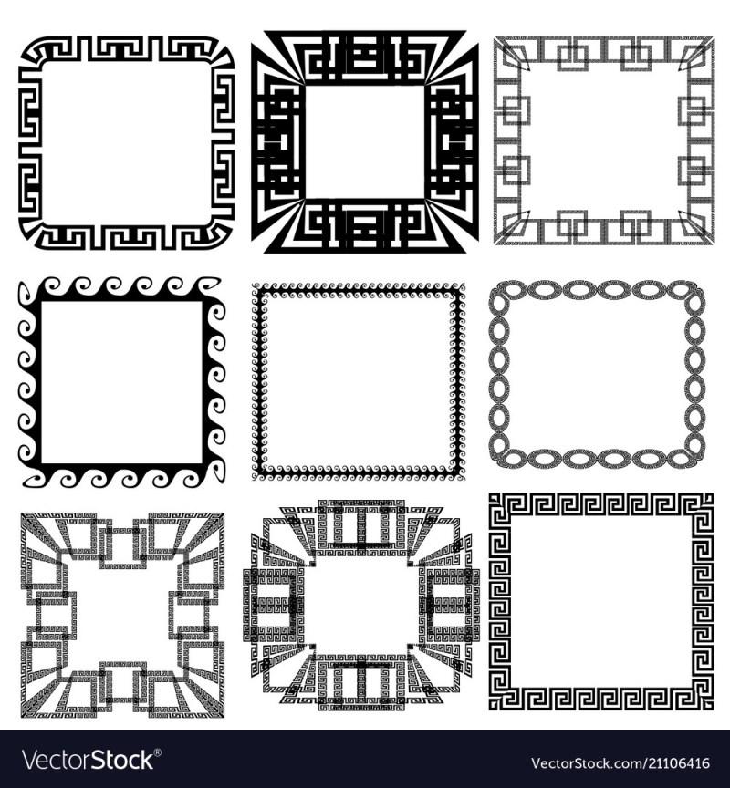Large Of Greek Key Pattern