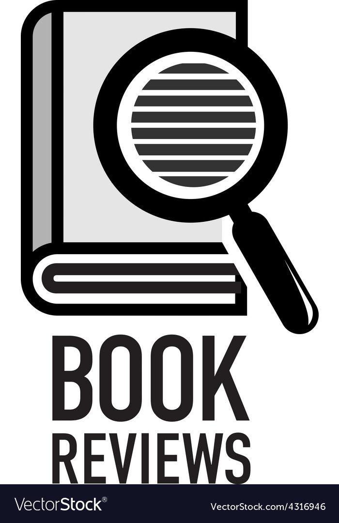 Book reviews service logo template Search inside Vector Image - book reviews template